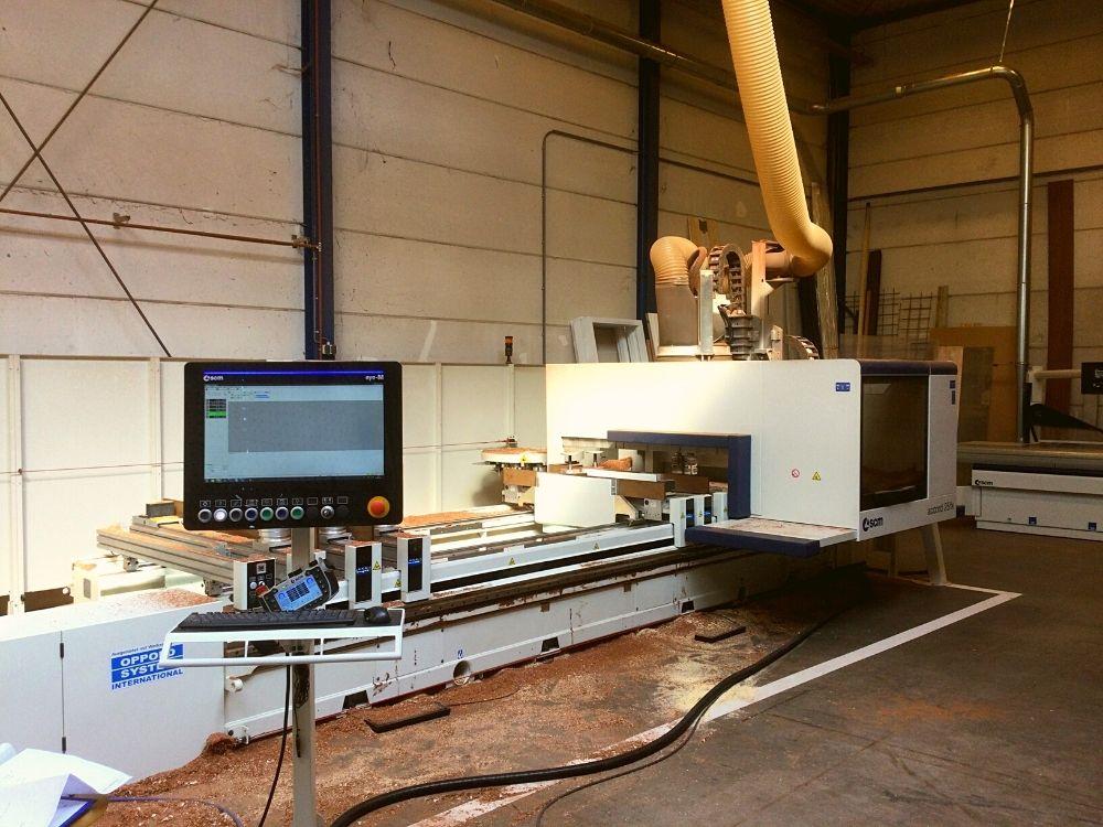 Timmertechniek machinepark CNC